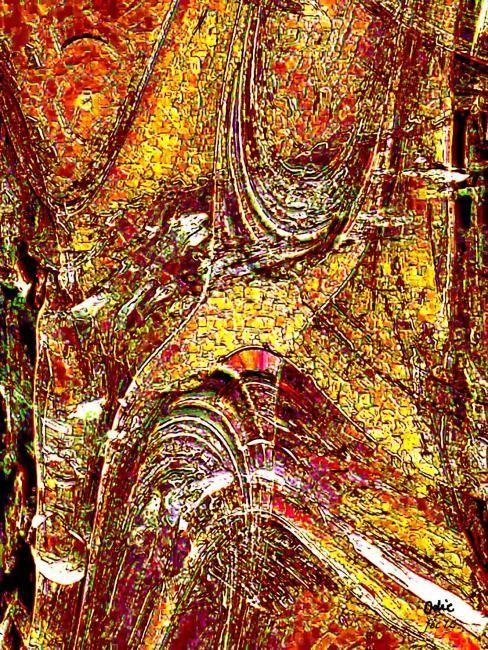 structures internes de l'or (Peintures numériques Galerie 2012)