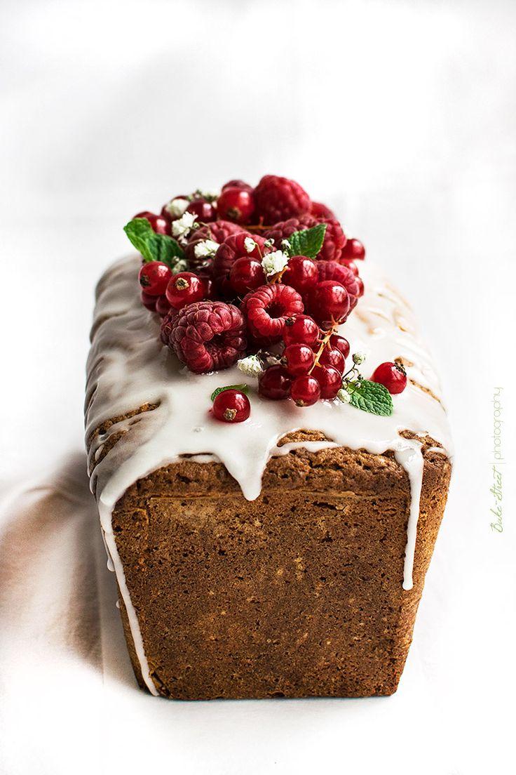 Loaf Cake de frambuesas y limón - Bake-Street.com