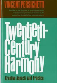 Here for the first time is an orderly presentation of the harmonic procedures to be found in music of the first half of the twentieth-century. The author examines the nature of intervals in various contexts, discusses the modes and other scales employed in modern music, describes the formation and uses of chords by thirds, by fourths, and by seconds, of added-note chords and polychords; he deals with different types of harmonic motion, with harmonic rhythm and dynamic sand ornamentation…