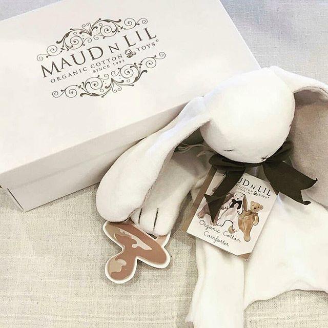 Ears The Bunny arriving soon #kydloves #maudnlil #earsthebunny #cuddlefriend #cute #babyshower #babiesfirsttoys