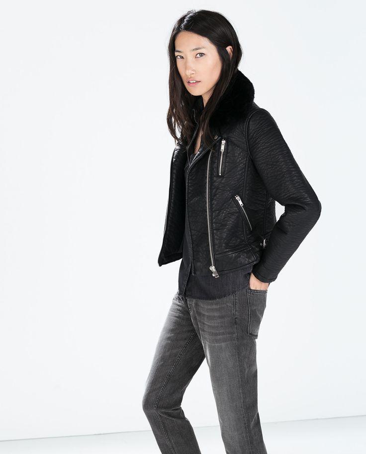 10 best id es propos de blouson simili cuir femme sur pinterest veste simili cuir femme. Black Bedroom Furniture Sets. Home Design Ideas