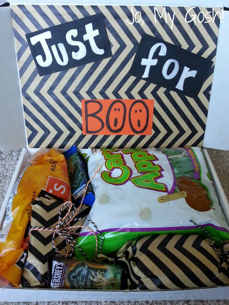 Just for Boo: A Halloween Care Package - Jo, My Gosh!