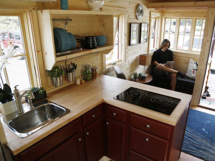 tiny house cypress interior