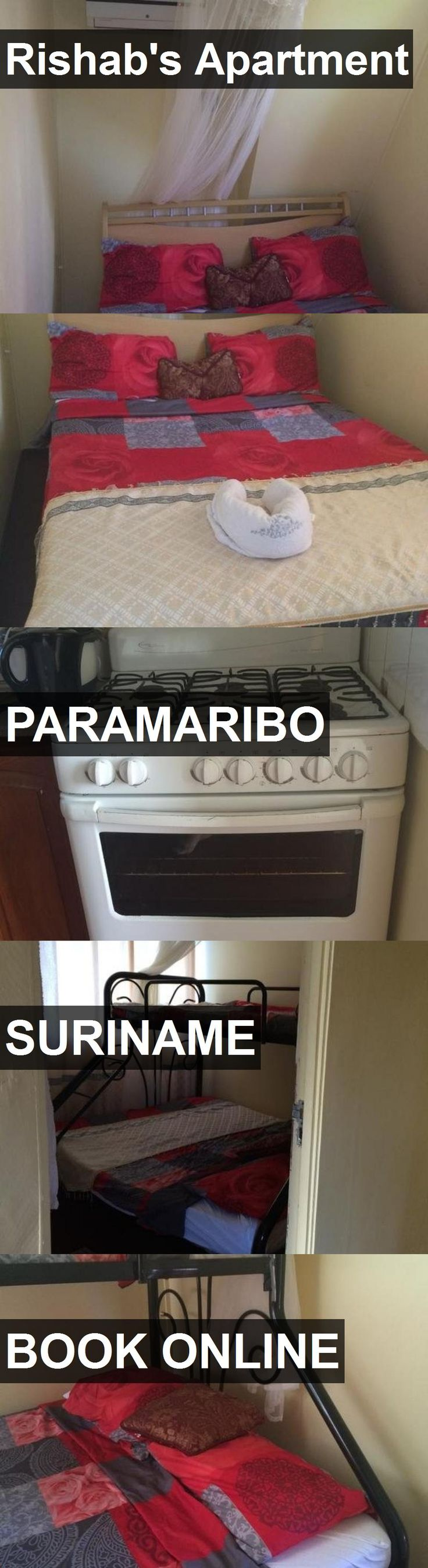 Hotel Rishab's Apartment in Paramaribo, Suriname. For more information, photos, reviews and best prices please follow the link. #Suriname #Paramaribo #Rishab'sApartment #hotel #travel #vacation
