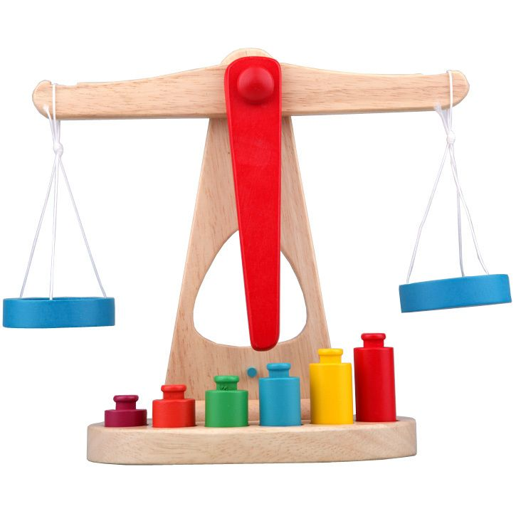 Wooden Balance Scale  Yakuchinone Libra Pendulum Early Learning Weight  Child Kids Intelligence Toys-inBlocks from Toys & Hobbies on Aliexpr... - $17.15 incl shipping