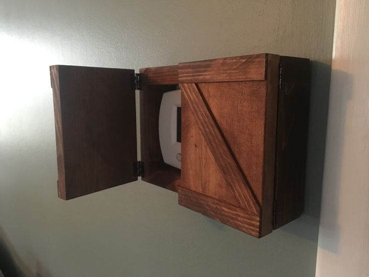 Rustic Thermostat Covers! Only at Lumber Lovin'  https://www.etsy.com/listing/502096347/thermostat-cover-rustic-style-customize https://www.etsy.com