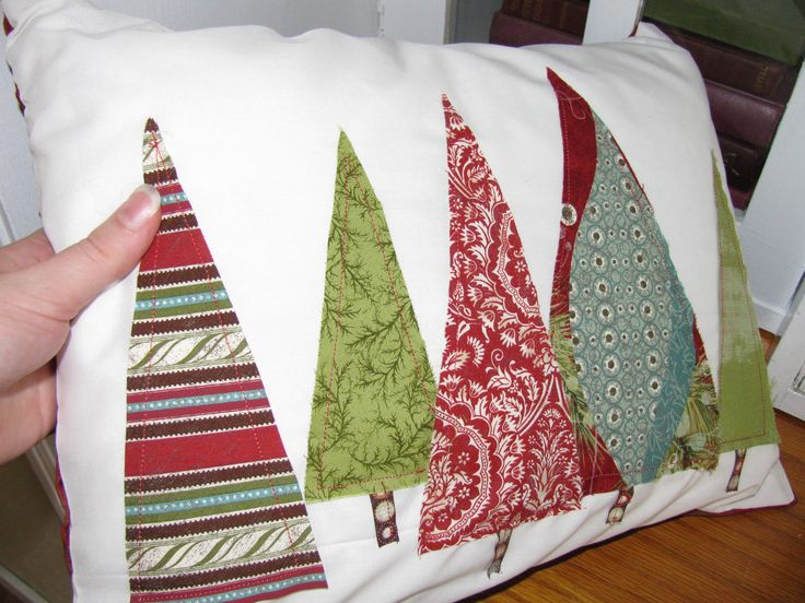 Would be cute for pillow cases for each holiday to use.  What great gifts.
