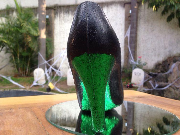 ELPHABA en Monster Rose. Zapatillas de chocolate especial de Halloween. www.lamansionrosa.com