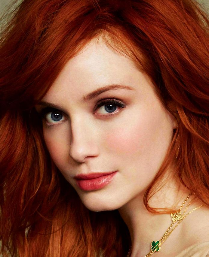 simple light makeup for redheads