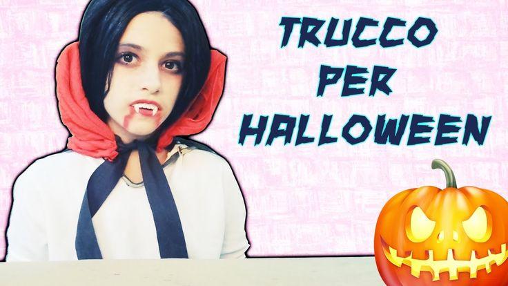 Come fare trucco per Halloween DIY Vampire Make-up