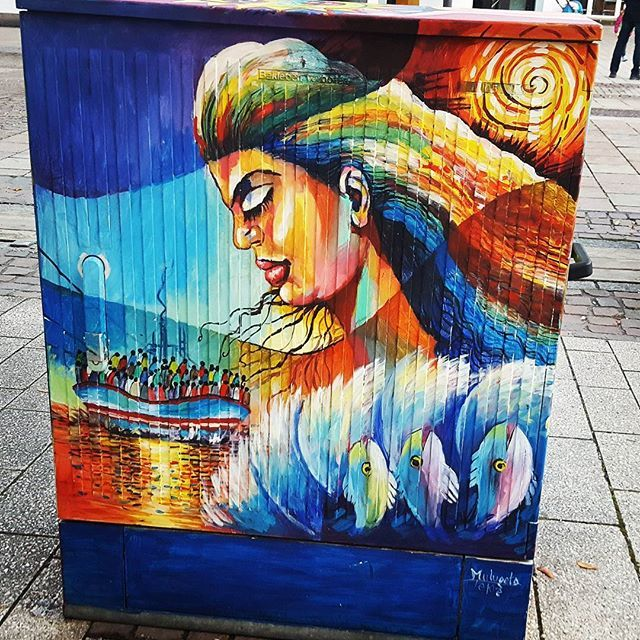 #stencilart #streetart #kunst #kunstprojekt #kunstkasten #graffiti #bunt #künstler #straßenkunst #art #freiraum #streetartist #balingen #zollernalbkreis #blog #imländle #badenwürttemberg