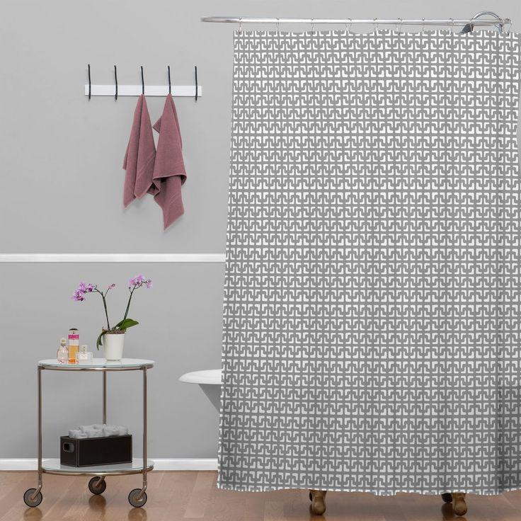 17 melhores ideias sobre cortinas de box de banheiro cinza no ...