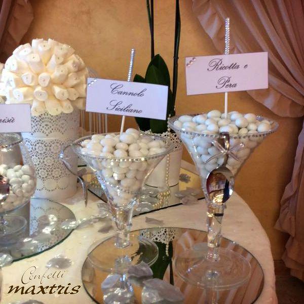 #confettata #maxtris #confetti #wedding #anniversary #party #anniversario #matrimonio #ricotta #pera #cannolo