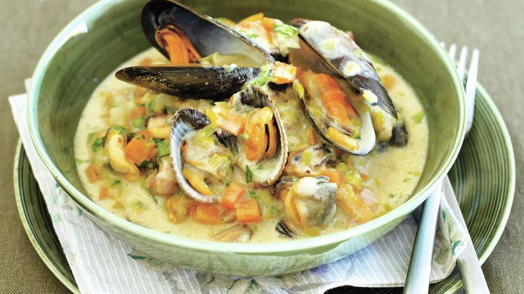 Irish cookbook author Rachel Allen shares a recipe for Molly Malone chowder, a soup inspired by the Irish folk song about a doomed fishmonger.