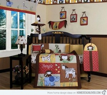http://www.bawtie.com/4-best-baby-boy-room-themes/ 4 Best Baby Boy Room Themes : Amazon Jungle Baby Boy Room Themes