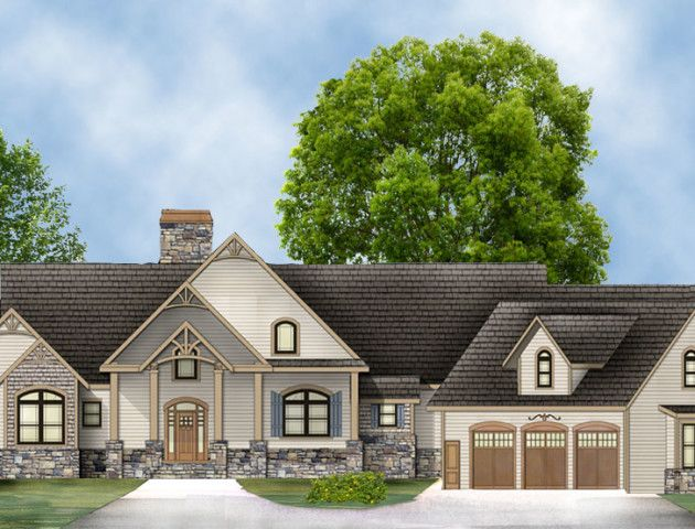 15 best house plans images on pinterest craftsman ranch for Pepperwood homes