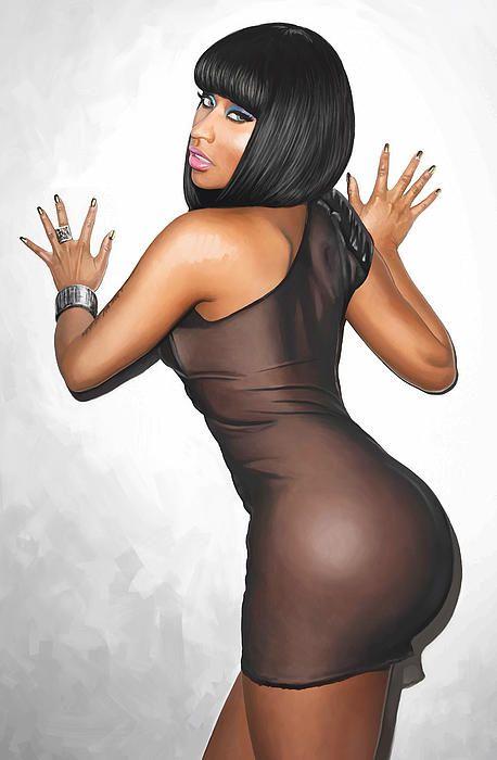 Nicki Minaj Artwork