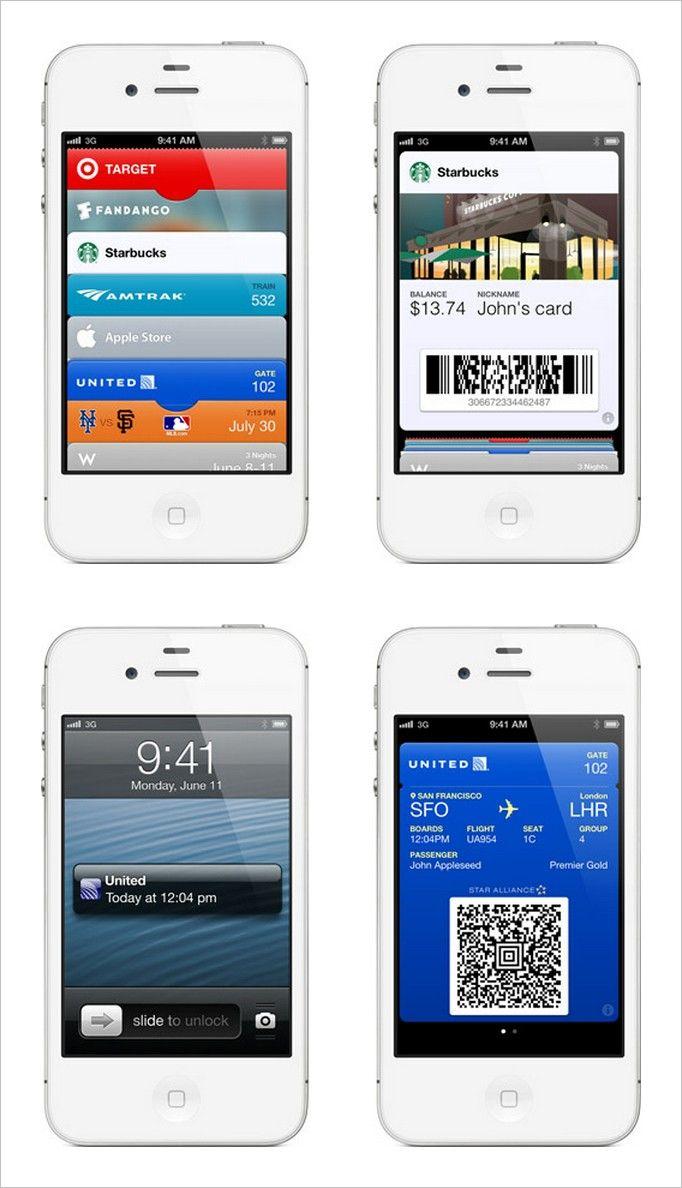 Passbook Apple's QR Code Ticketing App