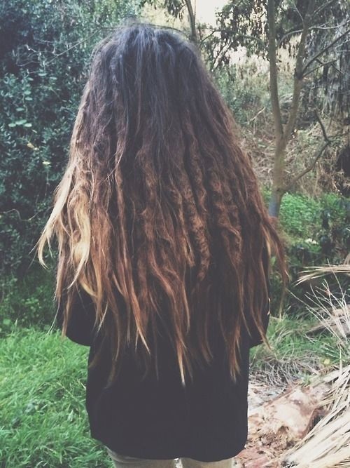 This is what I want...dreads mixed in. I think it is just beautiful
