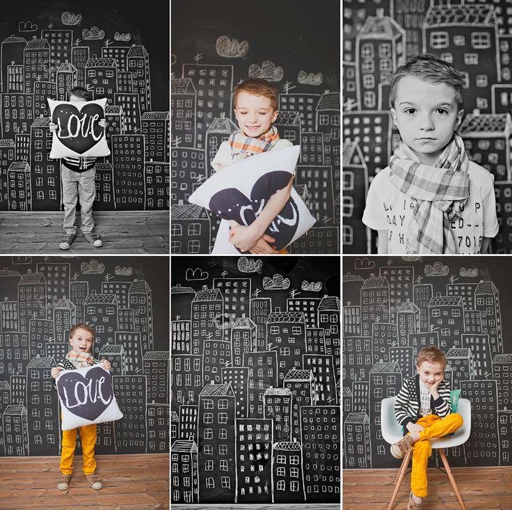 love the chalkboard wall possibilities :)