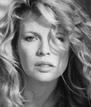 Kim Bassinger (American former fashion model actress) Her most noted roles are Never Say Never Again, Batman, the Natural, L.A. Confidential, 91/2 Weeks, Blind Date, My Step Mother Is An Alien, The Real McCoy. Nadine. . . . .