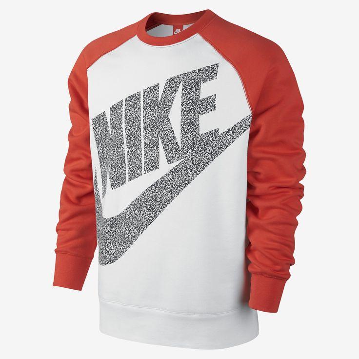 Nike Football AW77 Crew Men's Sweatshirt. Nike Store