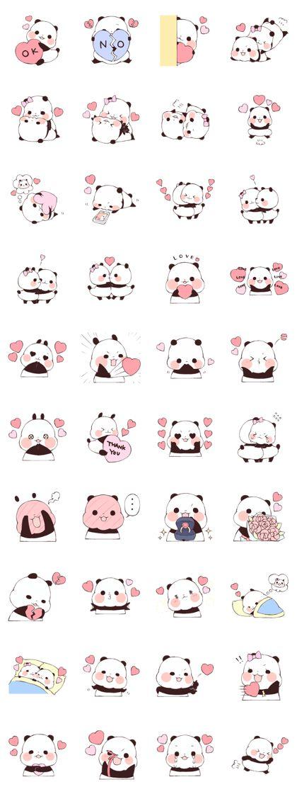 Love Love Yururinpanda Sticker !