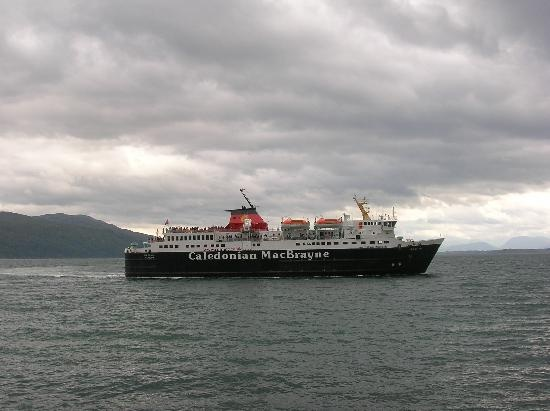 nothing like sailing the ferry to one of the Scottish islands