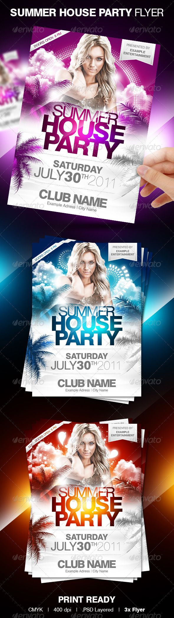 17 best images about flyer design nightclub party summer house party flyer