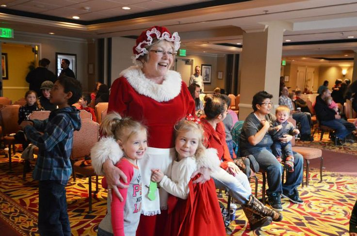 On Dec 6, CU System Staff Council hosted more than 100 children and parents from Aurora's Buckley Air Force Base at a holiday party at Denver's Warwick Hotel. The gathering was the third-annual community outreach effort by the council, which collected toys from staff members at system administration at 1800 Grant St., Denver. #CUHSLibrary