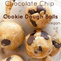chocchipcookiedough, from Averie Cooks!Cookies Dough, Chocolate Chips, Chips Cookies, Chocolates Chips, Cookie Dough, Raw Vegan, Gluten Free, Vegan Chocolate, Dough Ball