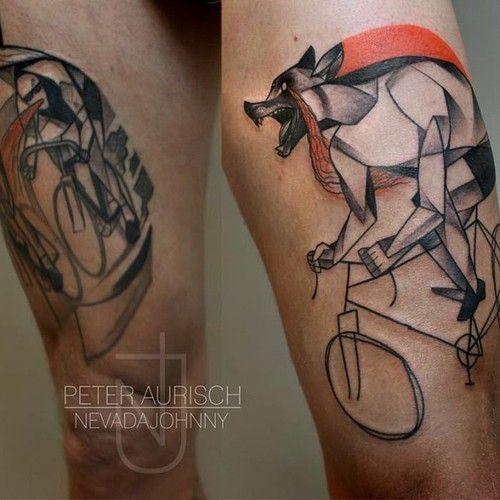 interesting tattoo shading