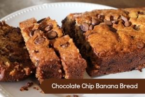 Chocolate Chip Banana Bread | Chocolate Chip Banana Bread, Chocolate ...