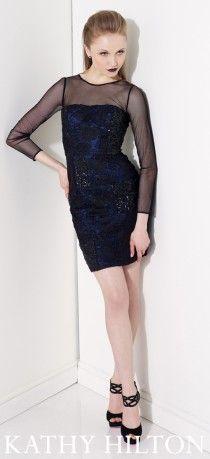 Tüllü kısa abiye modeli , Kathy Hilton