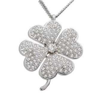 Buy our Australian made Lucky Four Leaf Clover - As Seen On Sex and The City - BEE-35239-CZ online. Explore our range of custom made chain jewellery, rings, pendants, earrings and charms.