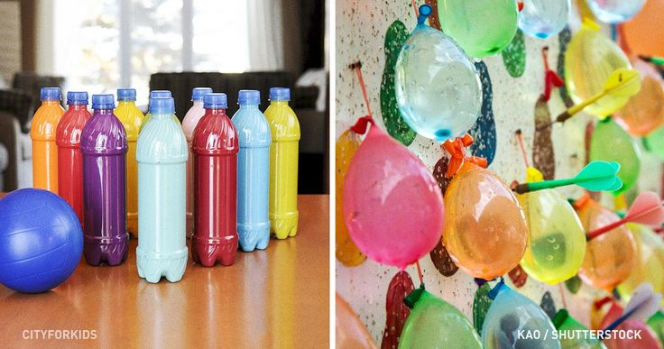 15wonderful games toplay with your kids the whole summer                All the materials are inyour house.