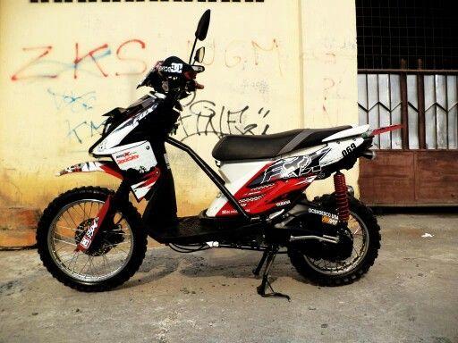 Yamaha x ride mod