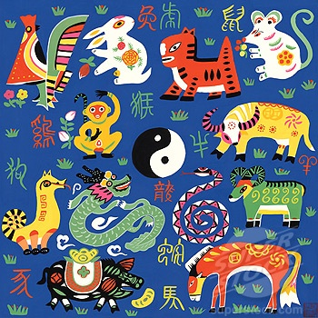 chinese zodiac folk art