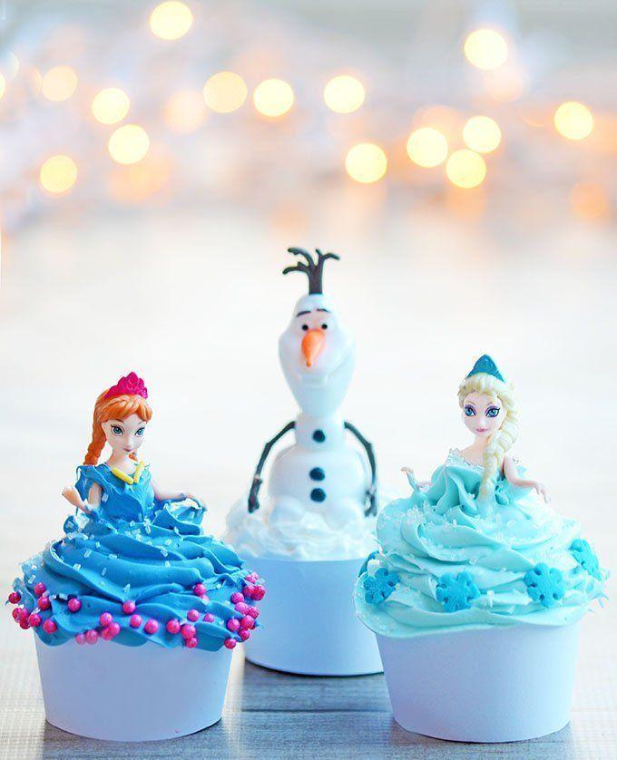 #Frozen #Cupcakes Divertidos para tus fiestas #weddings #quinceanera #15años #party #fiesta http://bit.ly/1un0Bfc