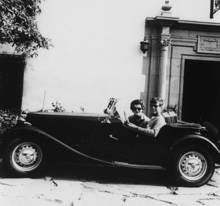 Senator John F. Kennedy and Jacqueline Bouvier Kennedy on their honeymoon in Acapulco, Mexico, September 1953.