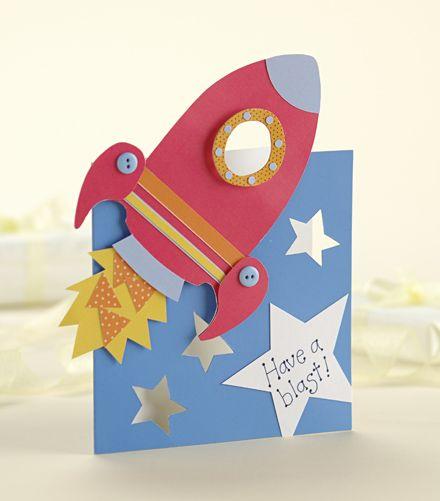 Make a rocket ship card! | Papercraft Inspirations