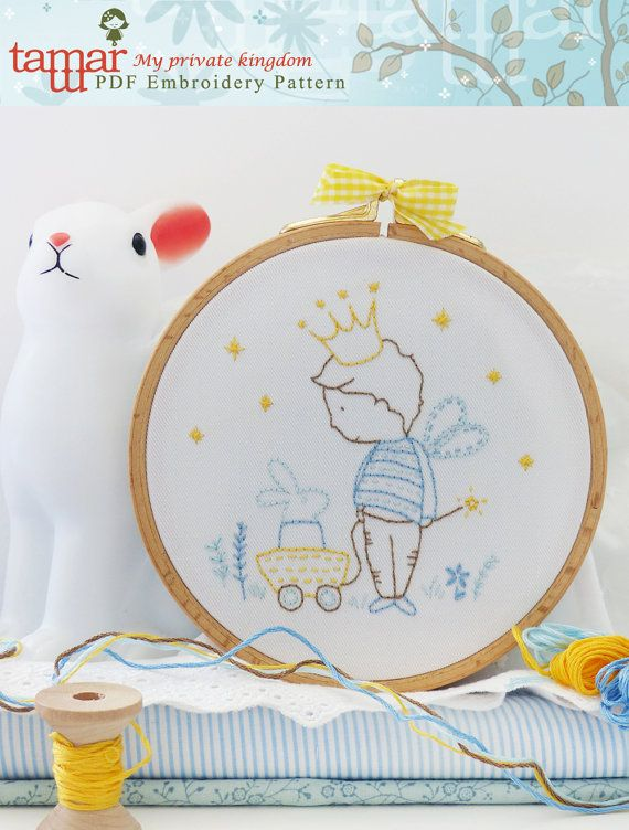 Embroidery designs for boys Embroidery by TamarNahirYanai on Etsy