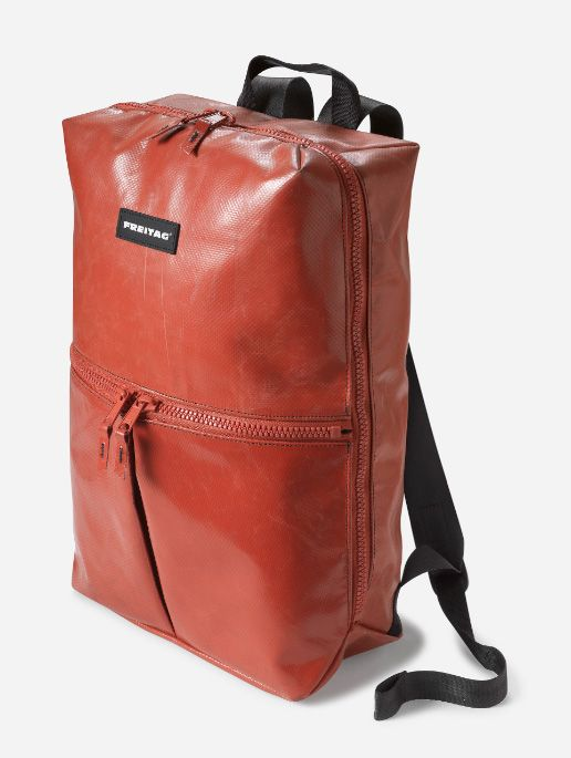For back to school, FREITAG introduces the F49 Fringe Backpack. To showcase the indestructible nature of their new backpack, they have produced the above video. Images of the backpack follow after the jump.