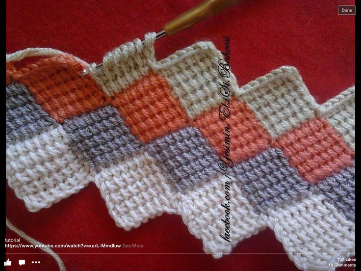 Crochet Stitches Getting Started : ... crochet on Pinterest Get started, Tunisian crochet stitches and