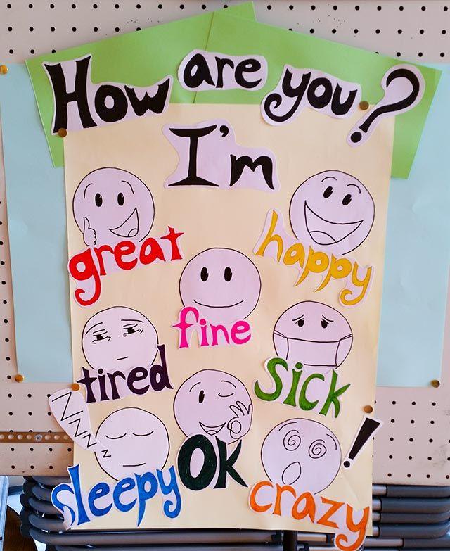 common phrases esl classroom decoration in japan