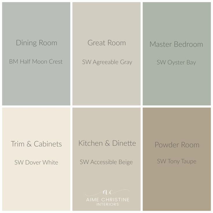 whole-house-color-palette | Home Colors | Pinterest | House color palettes, House colors and House