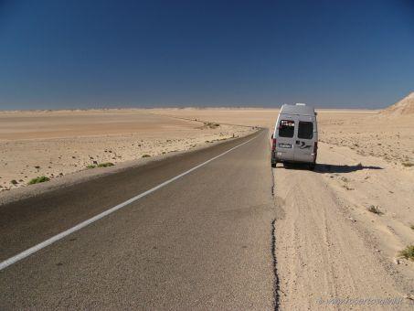 Strada verso Dakhla, Western Sahara