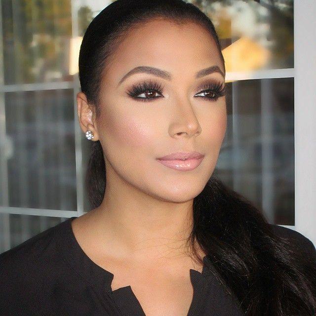 Shantel Jackson stunning makeup