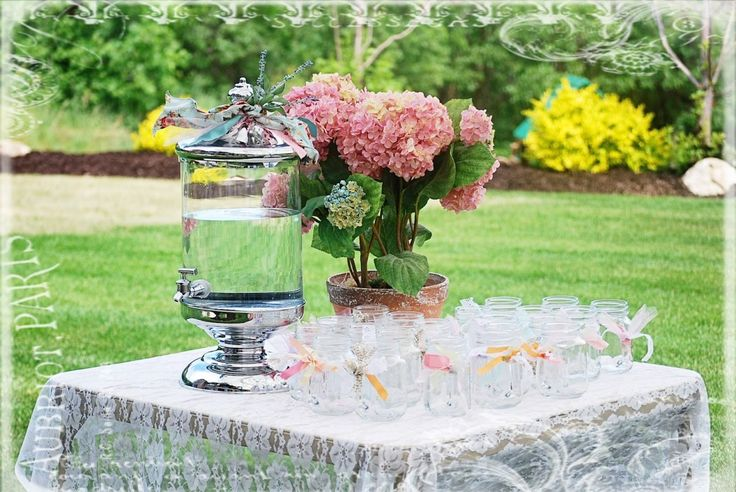 17 best images about grad party and more ideas on for Garden tea party table decorations