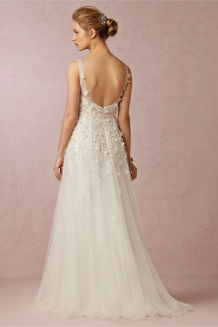 Luisa gown in bride wedding dresses at bhldn wedding for Bhldn used wedding dresses